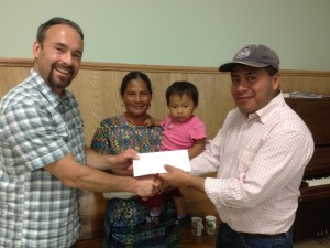 Jesus and Family New Hope Foundation with Brad